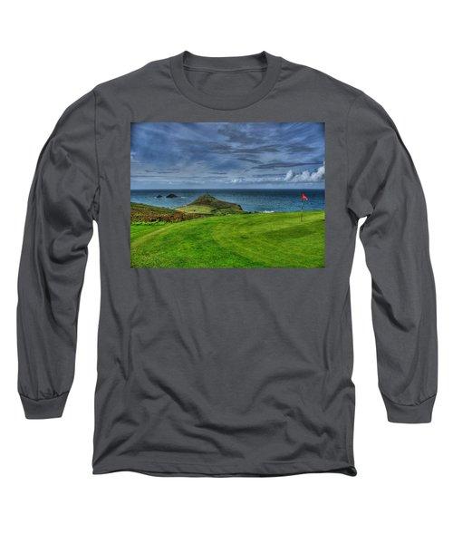 1st Green Cape Cornwall Golf Club Long Sleeve T-Shirt