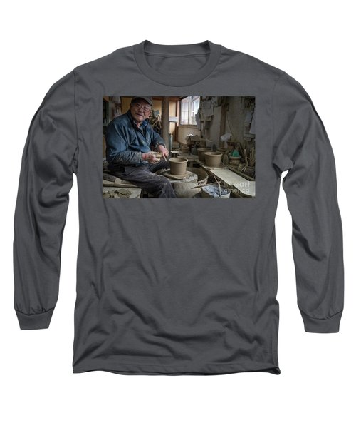 A Village Pottery Studio, Japan Long Sleeve T-Shirt