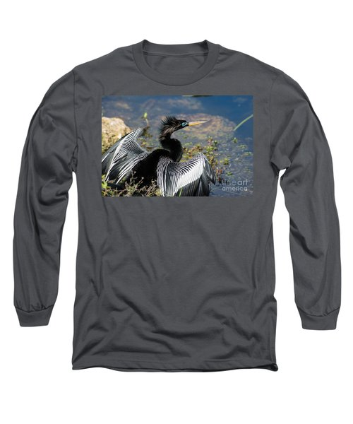Anhiinga Long Sleeve T-Shirt