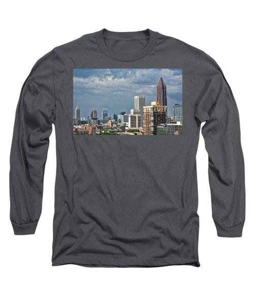 Atlanta Long Sleeve T-Shirt by Anna Rumiantseva