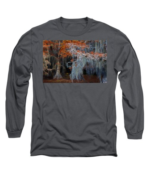 Long Sleeve T-Shirt featuring the photograph Autumn Moss by Lana Trussell