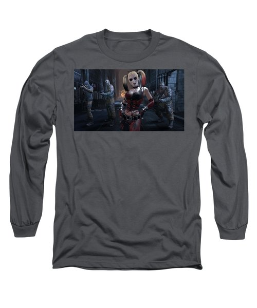 Batman Arkham City Long Sleeve T-Shirt