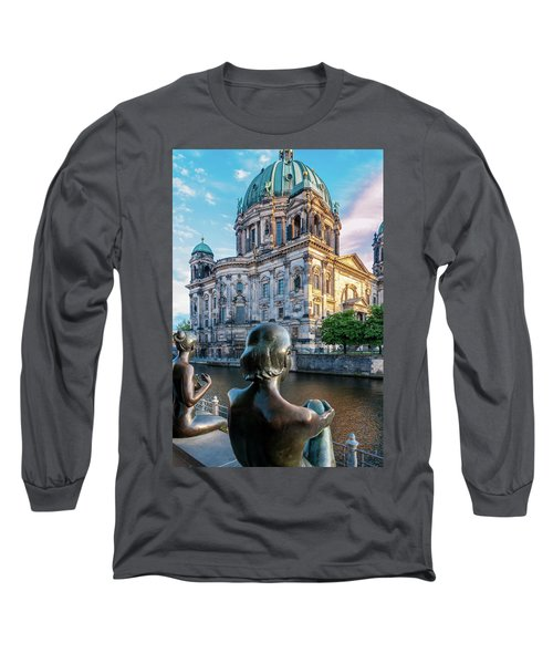 Berlin Long Sleeve T-Shirt by Stavros Argyropoulos