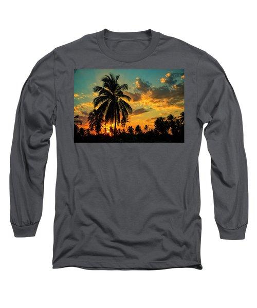 Blazing Sunset Long Sleeve T-Shirt