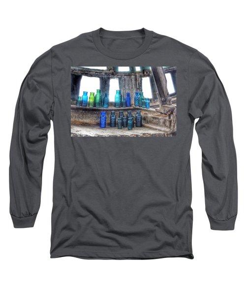 Bromo Seltzer Vintage Glass Bottles  Long Sleeve T-Shirt