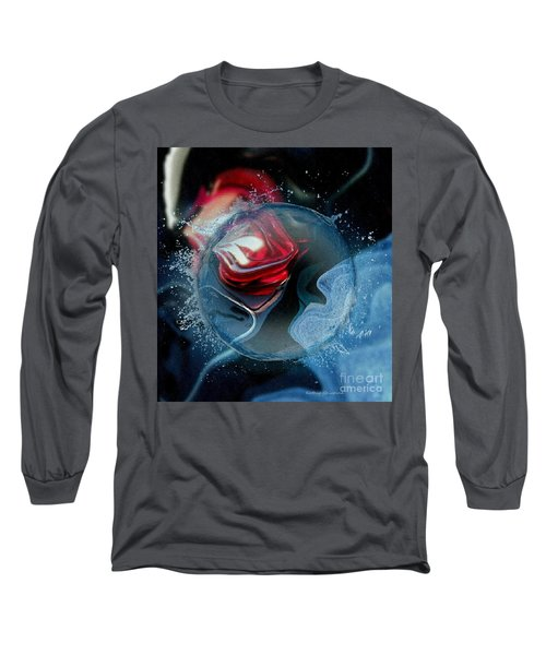 Upheaval Long Sleeve T-Shirt by Kathie Chicoine