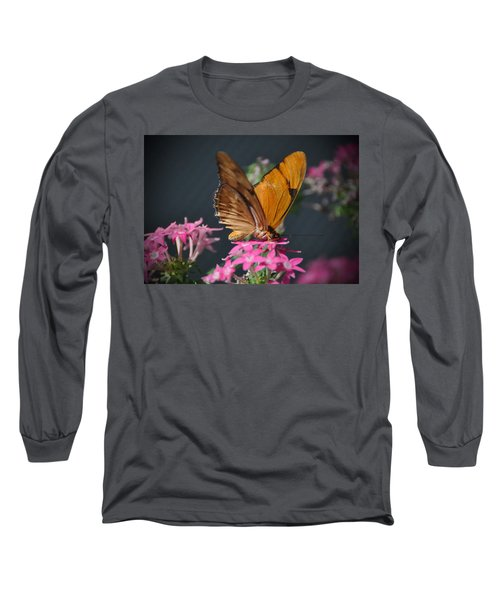 Long Sleeve T-Shirt featuring the photograph Butterfly by Savannah Gibbs