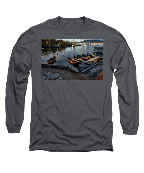 Bygdoy Harbor Long Sleeve T-Shirt