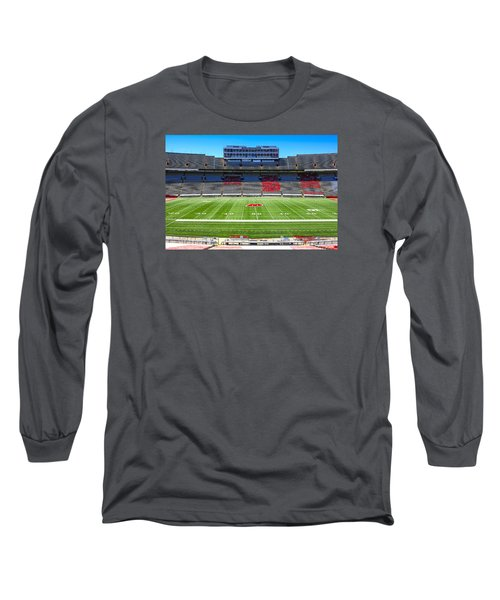 Camp Randall Uw Madison Long Sleeve T-Shirt by Chris Smith