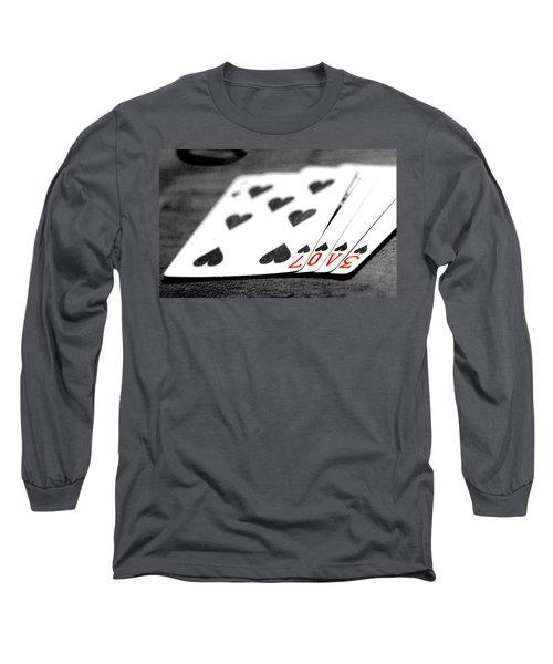 Card Long Sleeve T-Shirt