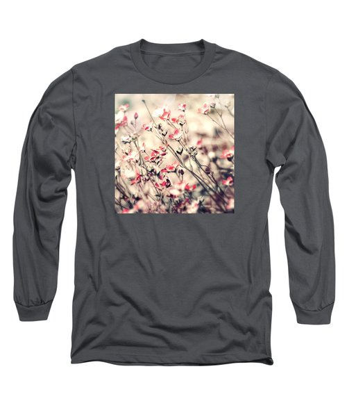 Carefree Long Sleeve T-Shirt by Bonnie Bruno