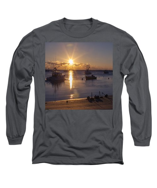Long Sleeve T-Shirt featuring the photograph Chatham Sunrise by Charles Harden