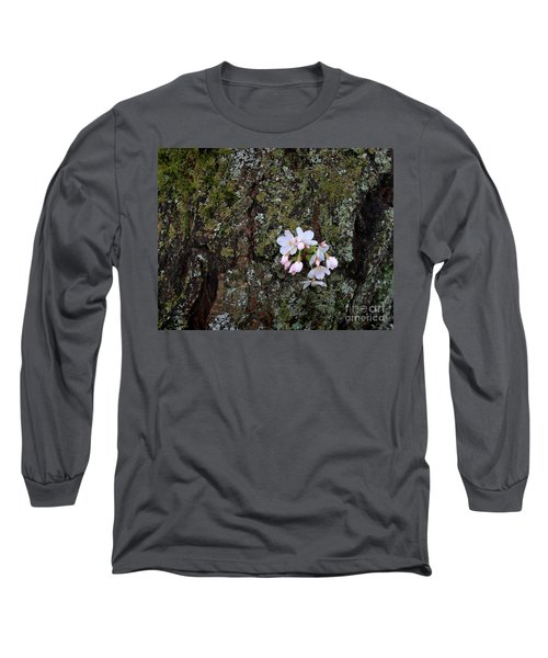 Long Sleeve T-Shirt featuring the photograph Cherry Blossoms by Tari Simmons