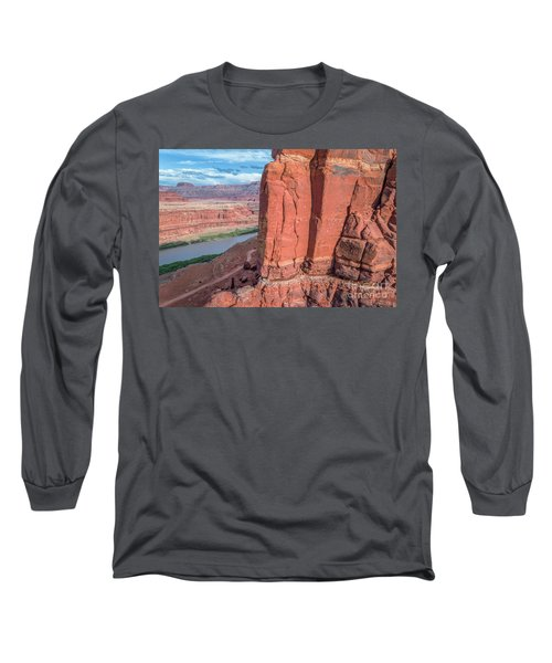 Chicken Corner Trail And Colorado River Long Sleeve T-Shirt