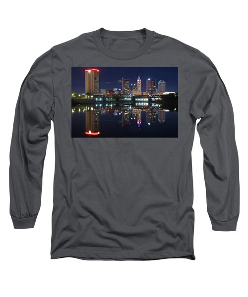 Columbus Ohio Long Sleeve T-Shirt by Frozen in Time Fine Art Photography