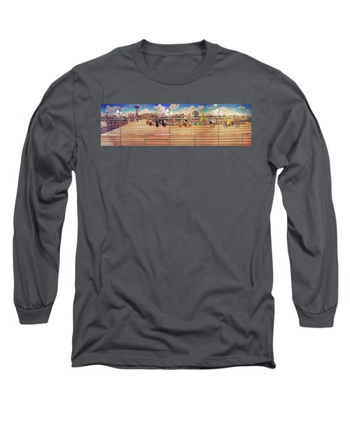 Coney Island Boardwalk Long Sleeve T-Shirt