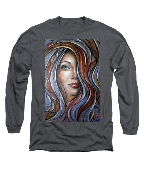 Cool Blue Smile 070709 Long Sleeve T-Shirt