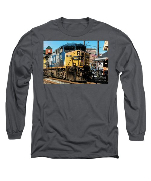 Csx Engine Gaithersburg Maryland Long Sleeve T-Shirt