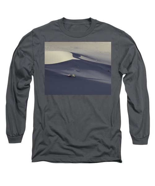 Death Valley Sand Dune At Sunset Long Sleeve T-Shirt