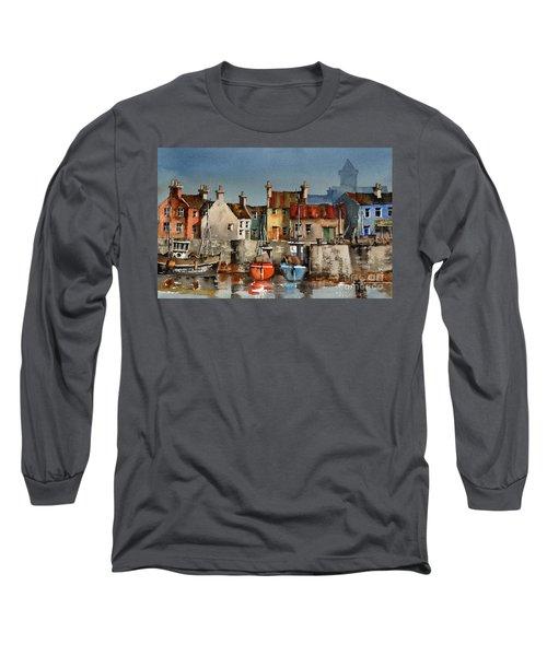 Dingle Harbour, Kerry Long Sleeve T-Shirt
