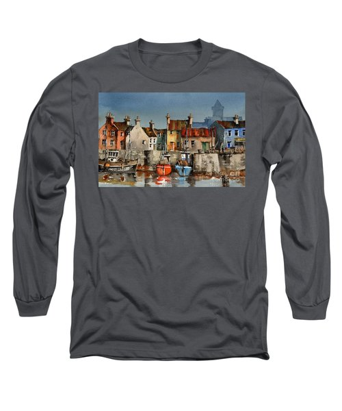 Dingle Harbour, Kerry Long Sleeve T-Shirt