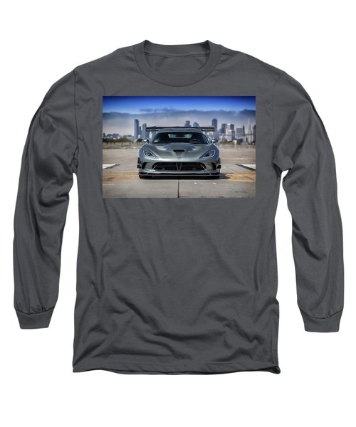 Long Sleeve T-Shirt featuring the photograph #dodge #acr #viper by ItzKirb Photography