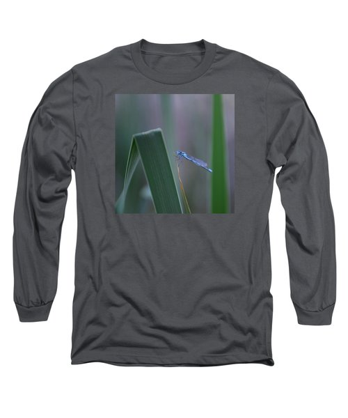 Long Sleeve T-Shirt featuring the photograph Dragonfly by Nikki McInnes