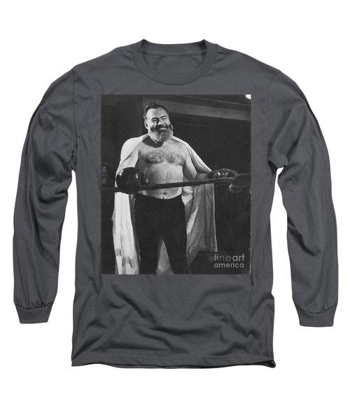 Ernest Hemingway Long Sleeve T-Shirt