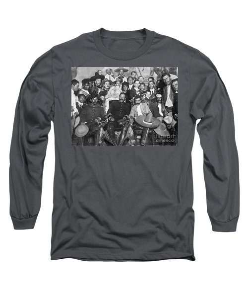 Francisco Pancho Villa Long Sleeve T-Shirt