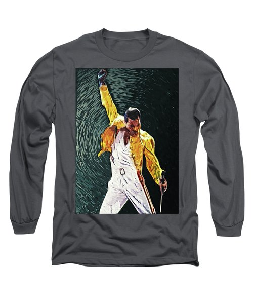 Freddie Mercury Long Sleeve T-Shirt