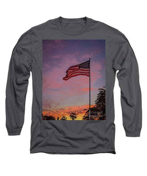Long Sleeve T-Shirt featuring the photograph Freedom by Robert Bales