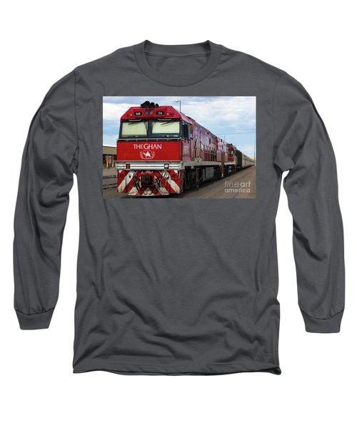 ghan at Alice Springs Long Sleeve T-Shirt