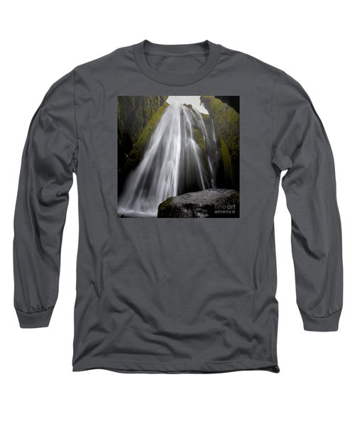 Gljufrabui Long Sleeve T-Shirt by Gunnar Orn Arnason