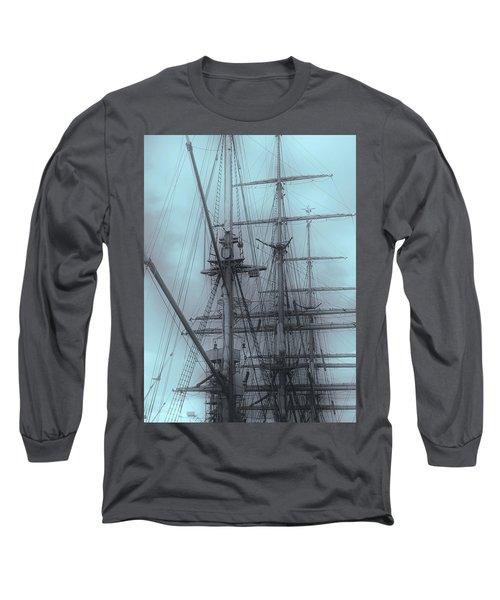 Long Sleeve T-Shirt featuring the photograph Gorch Fock ... by Juergen Weiss