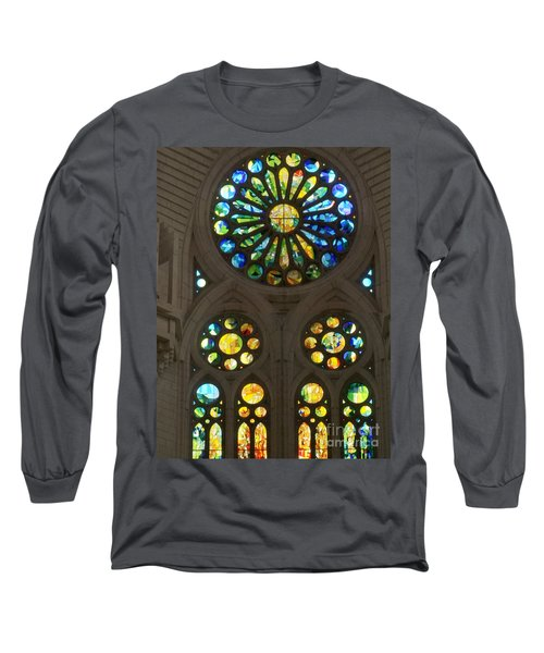 Graphic Art From Photo Library Of Photographic Collection Of Christian Churches Temples Of Place Of  Long Sleeve T-Shirt