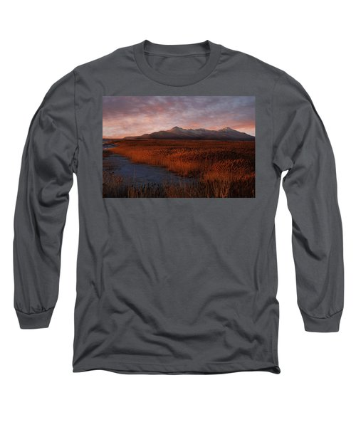 Great Salt Lake Long Sleeve T-Shirt by Utah Images