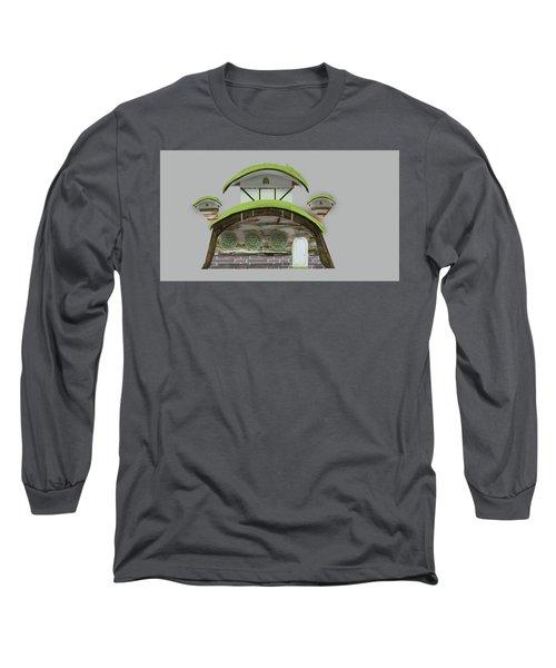House Long Sleeve T-Shirt by Bogdan Floridana Oana