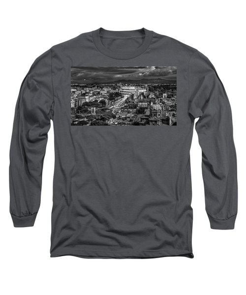 Il Colosseo Long Sleeve T-Shirt by Sonny Marcyan