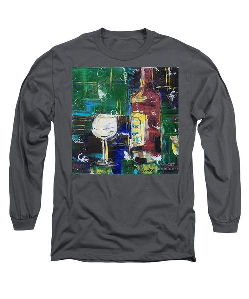 In Vino Veritas. Wine Collection 12 Long Sleeve T-Shirt
