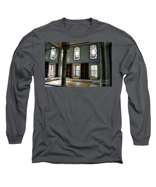 Long Sleeve T-Shirt featuring the photograph Inside The Harem Of The Topkapi Palace by Patricia Hofmeester