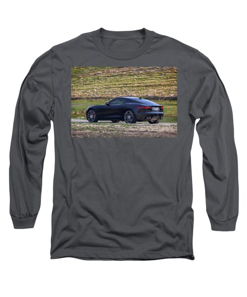 #jaguar #f-type #print Long Sleeve T-Shirt