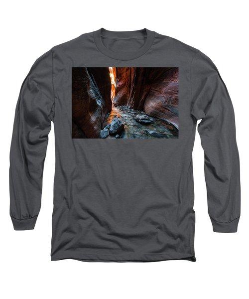 Kanarra Slot Canyon Long Sleeve T-Shirt