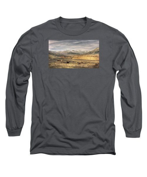 Lamar Valley Long Sleeve T-Shirt by CR  Courson