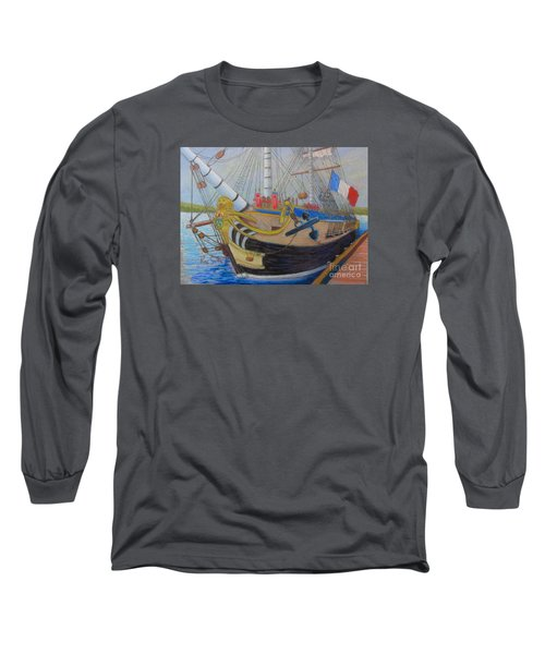 L'hermione Long Sleeve T-Shirt by Rae  Smith