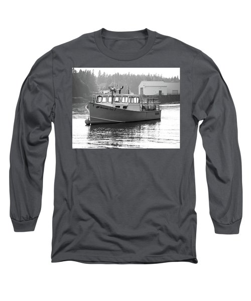 Lobster Boat Long Sleeve T-Shirt by Trace Kittrell