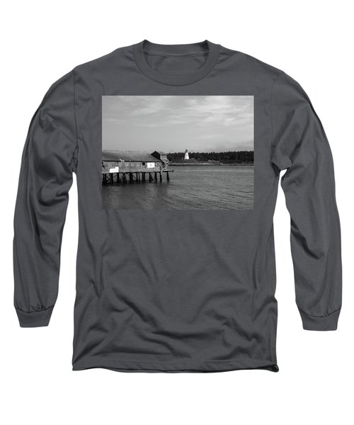 Lubec, Maine Long Sleeve T-Shirt by Trace Kittrell