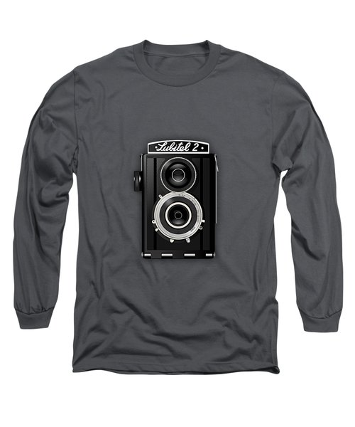 Lubitel 2 Vintage Camera Collection Long Sleeve T-Shirt