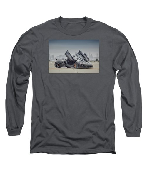 Long Sleeve T-Shirt featuring the photograph Mclaren P1 by ItzKirb Photography