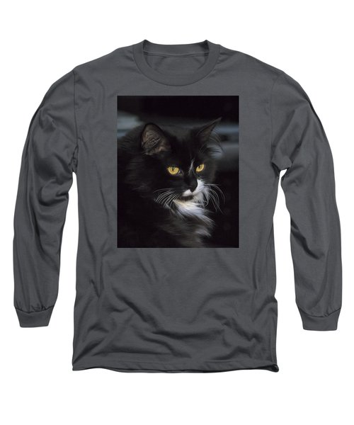 Long Sleeve T-Shirt featuring the photograph Mitzie by Susi Stroud