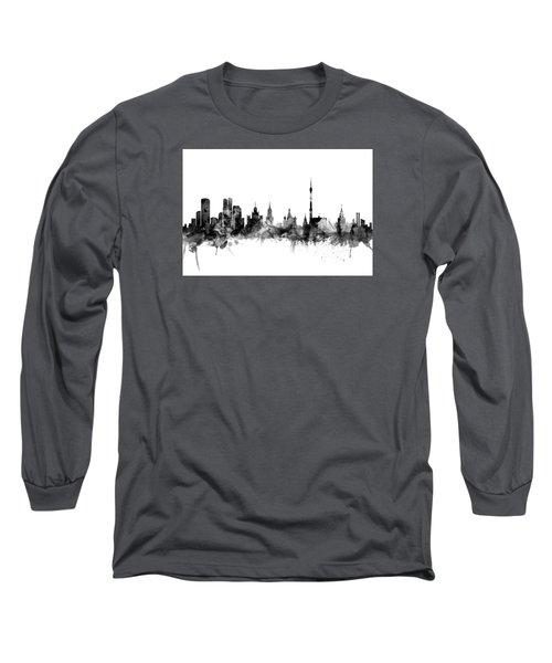 Moscow Russia Skyline Long Sleeve T-Shirt
